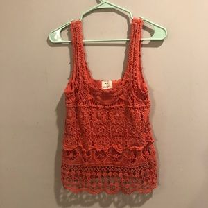 Urban outfitters pins& needles floral tank top